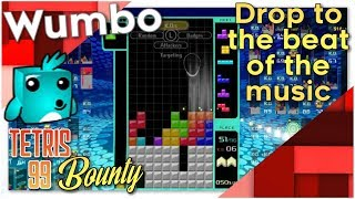 """Tetris 99 Bounty - """"Drop to the beat of the music"""""""