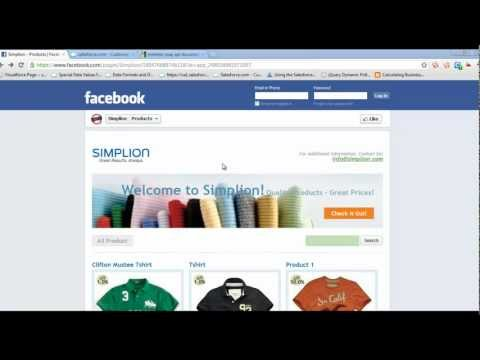 Salesforce-Facebook Page Integration