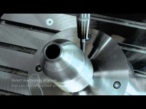 ALL IN 1: Laser Deposition Welding and Milling