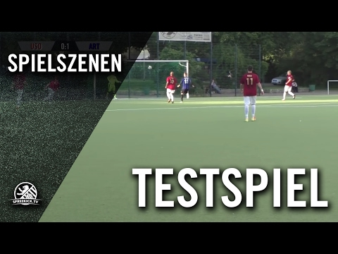 SC Union-Südost – FC Arminia Tegel (Testpiel) – Spielszenen | SPREEKICK.TV