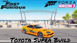 Forza Horizon 3 Fast & Furious Toyota Supra
