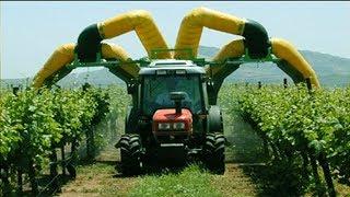 Những máy móc thu hoạch táo hiện đại - Công nghệ thông minh