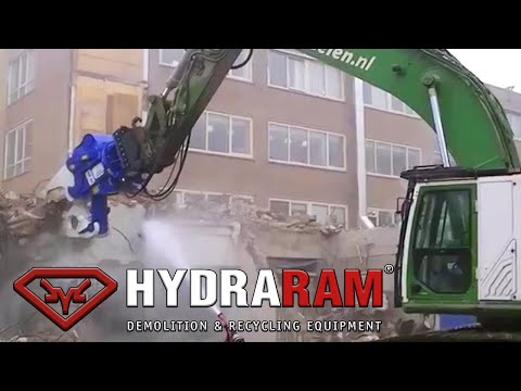 Hydraram MK-50 demolition job