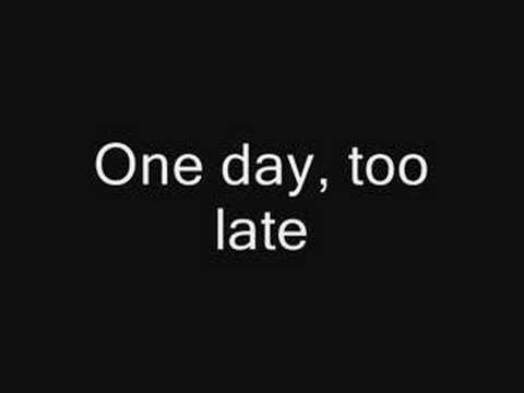 Fine Again by Seether (lyrics)