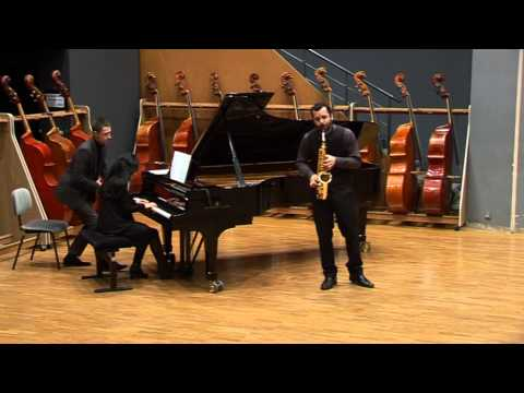 Nicolas Arsenijevic, Sonate, Paul Creston (2ème mouvement)