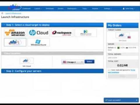 SHI Cloud Services Demo