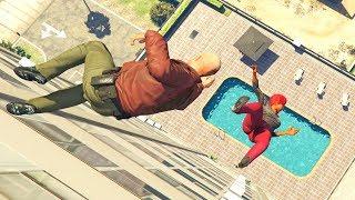 GTA 5 Epic Ragdolls Compilation #16 (Euphoria Physics | Funny Moments)