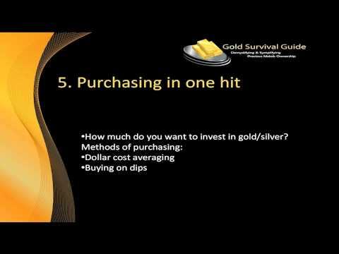 7 Deadliest Mistakes When Buying Gold and Silver Video #5
