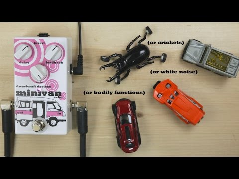 Dwarfcraft Devices Minivan Echo Pedal