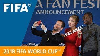 FIFA announces the new 2018 FIFA Fan Fest™ Ambassadors