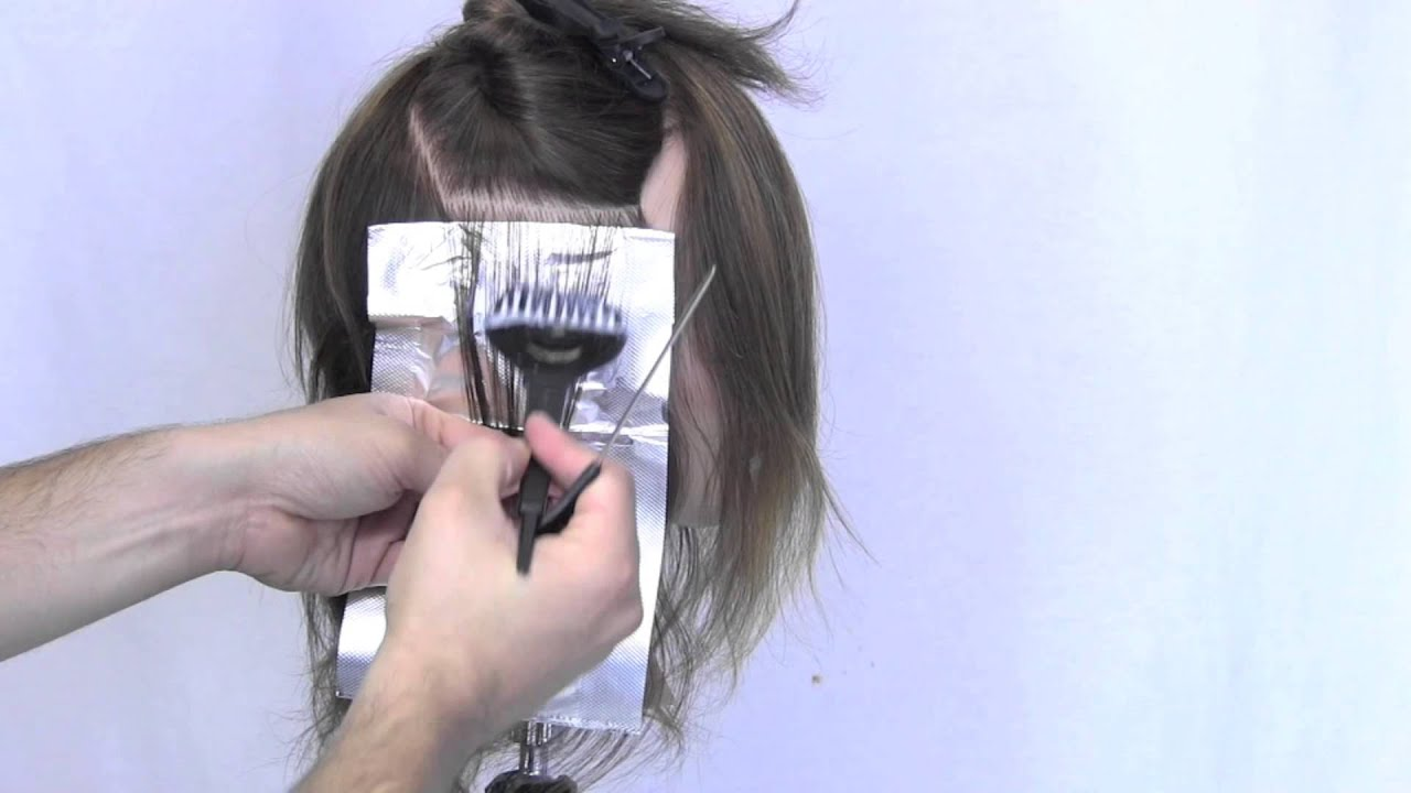 Hair Color Placement 101 - YouTube
