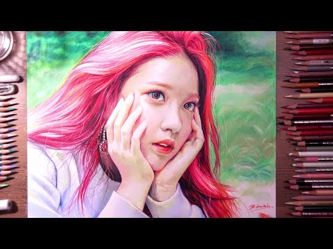 Red Velvet : Yeri - colored pencil drawing | drawholic
