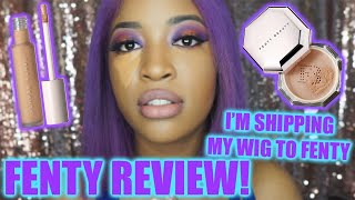 IM SHIPPING MY WIG TO FENTY TONIGHT! | NEW FENTY PRO FILTER REVIEW