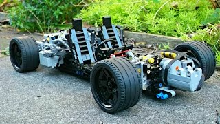 Lego Technic RC Supercar Chassis - 1/10 Scale