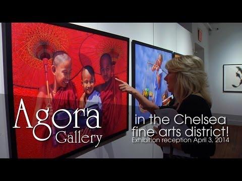 Agora Gallery exhibition reception April 3, 2014