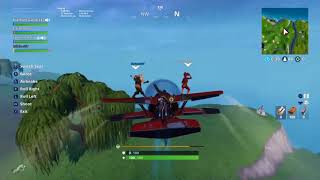 Trolling people with the planes.