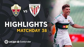 Resumen de Elche CF vs Athletic Club (2-0)