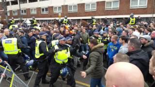 5/03/16 Tottenham Hotspur v Arsenal - the ugly side of football