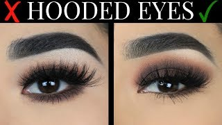 EASY smokey eye for HOODED eyes