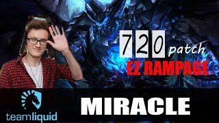 Miracle - Terrorblade Safelane | EZ RAMPAGE | Dota 2 Pro Player MMR Gameplay