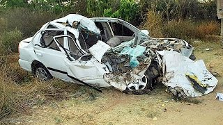 Latest Car Accident of Hyundai Accent in India - Road - Crash - Compilation - 2016 - 2017 - 2018