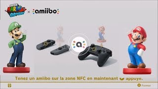 Super Mario Odyssey : fonction amiibo Luigi & Mario