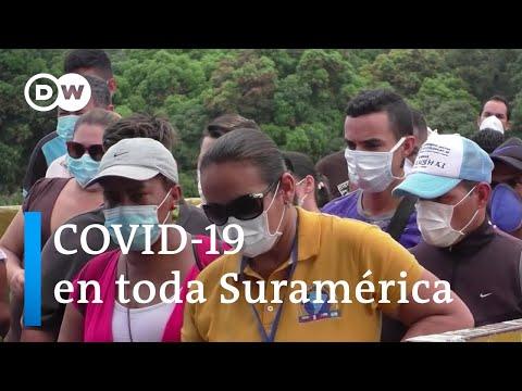 COVID-19 en toda Suramérica