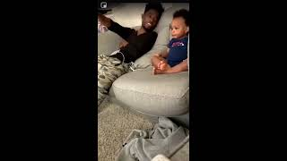 Baby Has A Full Damn Conversation With His Daddy