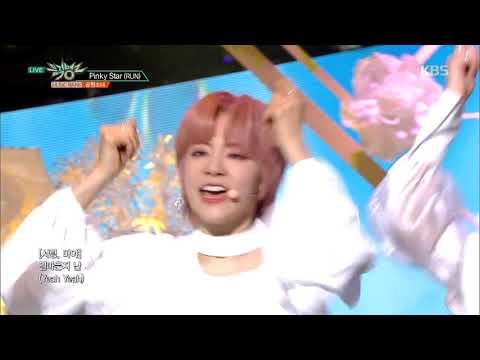 Pinky Star(RUN)(핑키스타) - 공원소녀(GWSN) [뮤직뱅크 Music Bank] 20190315