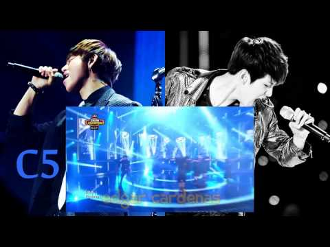 Baekhyun vs. Daehyun, Vocal Battle: Belting (F4-F5)