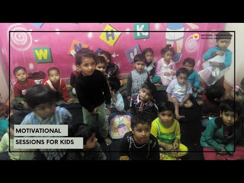 At National Ngo Rehab Center Motivational Sessions For Kids.