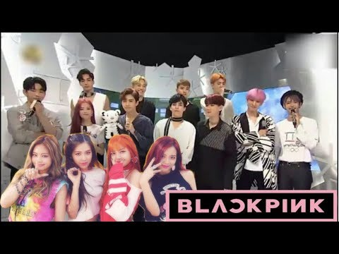 (Part 1) K-Idols Dancing and Singing to BLACKPINK Songs
