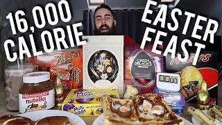 The Biggest Easter Feast Ever (Over 16,000 Calories) | BeardMeatsFood