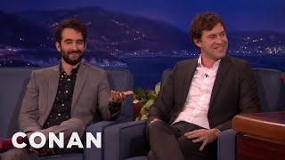 Jay and Mark Duplass' Awkward On-Set Nudity  - CONAN on TBS