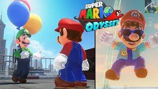 Super Mario Odyssey   Luigi's Balloon World & New Outfits FREE DLC