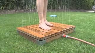Die einzigartige gartendusche - Pool gunstig selber bauen ...