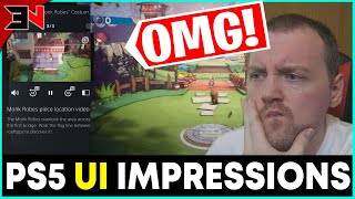 First Look PlayStation 5 User Experience - PlayStation 5 - Official User Experience UI Reaction
