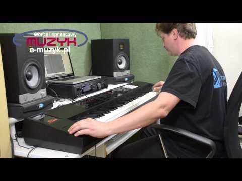 Roland FA08 prorotyp DEMO - loop seqencer