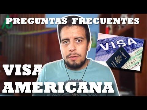 ¡PREGUNTAS FRECUENTES SOBRE LA VISA AMERICANA!