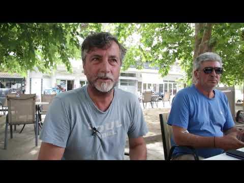 Γιάννης Γκανάς, πρόεδρος αγροτικού συλλόγου Αμπελουργών Δαμασίου