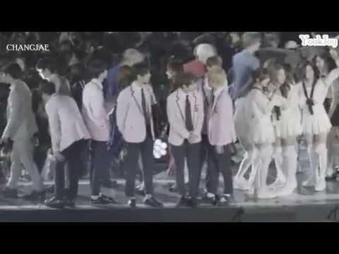 [160604] Dream Concert Sungjae Joy Bbyu Moment♥ BtoB Red Velvet Moment