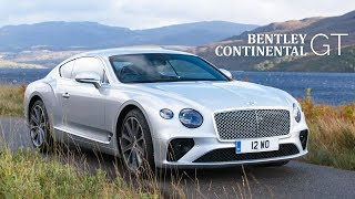 NEW Bentley Continental GT: Road Review | Carfection 4K