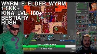 Tibia - Knight lvl 180+ ELDER WYRM E WYRM DREFIA - 1.5KK+ XP - BESTIARY