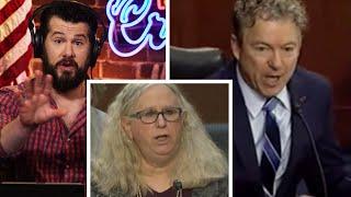 "Rand Paul SHUTS DOWN ""Dr."" Rachel Levine | Louder With Crowder"