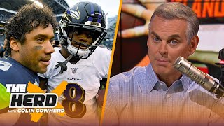 Seahawks and Ravens feel like SB teams, Colin on if Browns' issue is HC or Mayfield | NFL | THE HERD