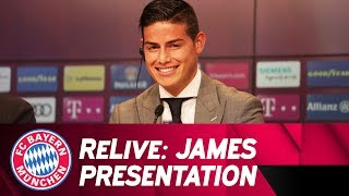 ReLive | Presentation of James Rodríguez