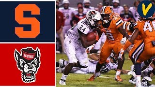 Syracuse vs NC State | Week 7 | College Football Highlights | 2019
