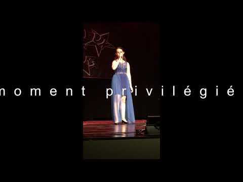 Emilie chante Céline Dion