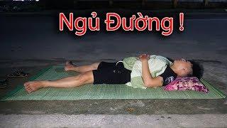 NTN - Thử Thách Ngủ Ngoài Đường (Swimming with a giant plastic bag)