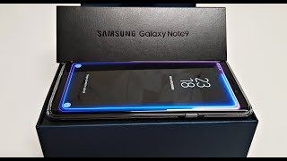 The NEW Samsung Galaxy Note 9 (128GB) Unboxing and Setup!